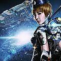 Jolin in noah's legend doomsday themed micro-movie