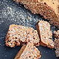 Gâteau carambar chamallows sans oeufs
