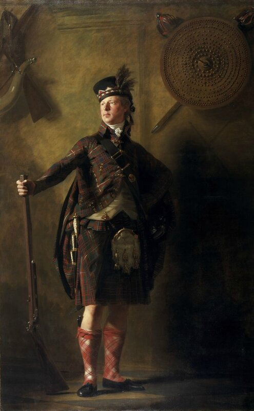 Henry Raeburn, Colonel Alastair Ranaldson Macdonell of Glengarry (1771 - 1828), exhibited 1812