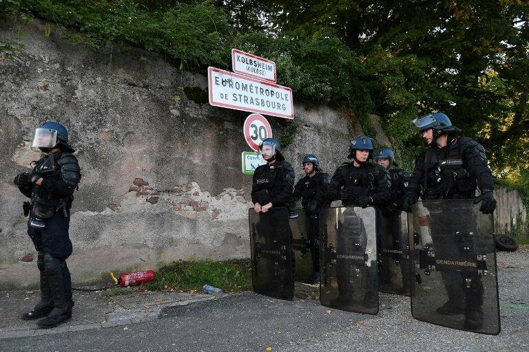 gendarmes-positionnes-a-kolbsheim-lundi-10-septembre-2018