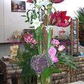 Bouquet Linéaire Amaryllis