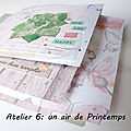 Atelier 6 du 23 mars : un air de printemps