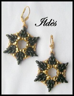 bo étoile noir doré 1