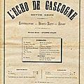 Echo de Gascogne blog