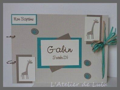 livre d'or girafes