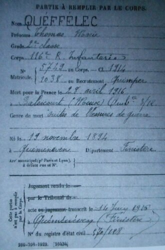 19160428 MDH Thomas Marie Q Famille Cast