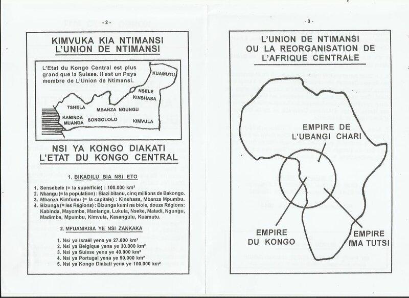 L'AMERIQUE ET L'ETAT DU KONGO CENTRAL b