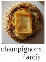 Champignons farcis index