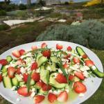 Courgette fraises