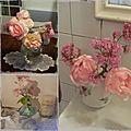 Bouquets rose poudrés...