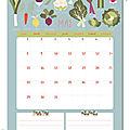 Calendriers mensuels : mai 2017 (gratuit - à imprimer)