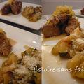 Sauté de veau aux courgettes et parmesan