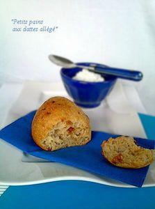 Petits pains aux dattes allégé1