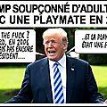 Macron et trump dans de sales draps