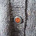 CABOURG - détail du bouton