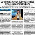 Législatives 2017 pour le 10ème circonscription de seine et marne : un parachutage au ps !!!