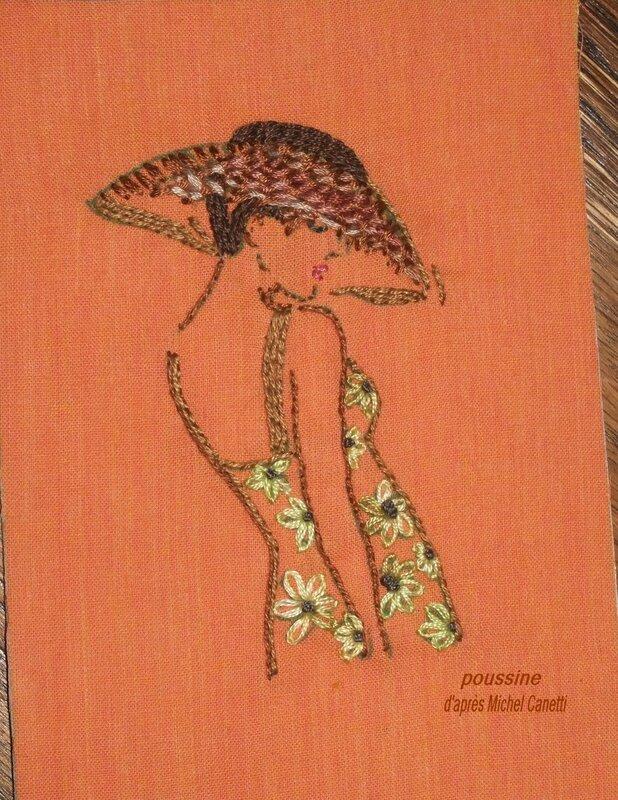 Michel canetti-Dame au chapeau1