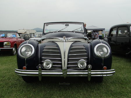 ROSENGART LR539 Supertraction Cabriolet 1939 Retro meus Auto Lac de Madine 2010 3