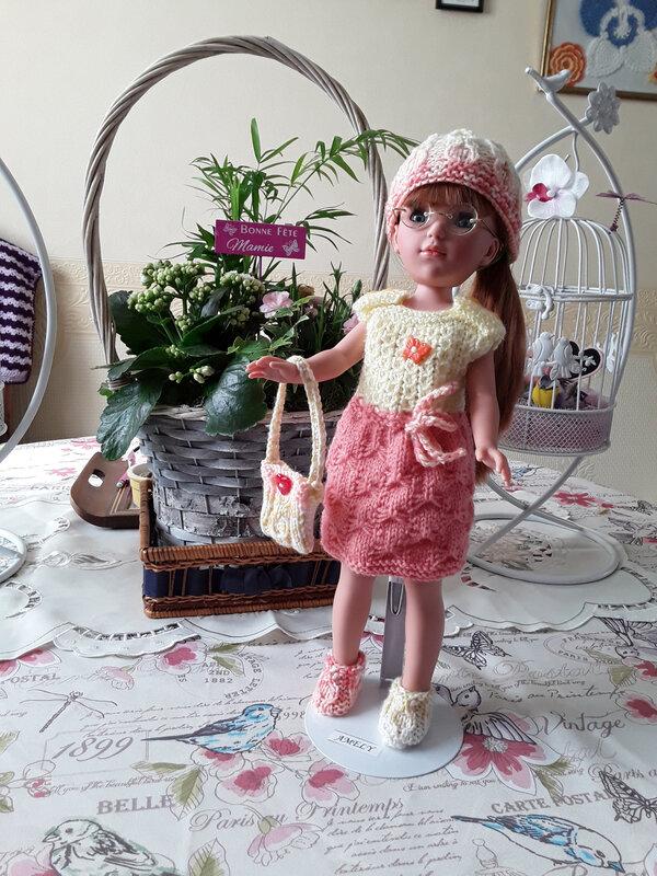 Amely & la robe de Nathalie