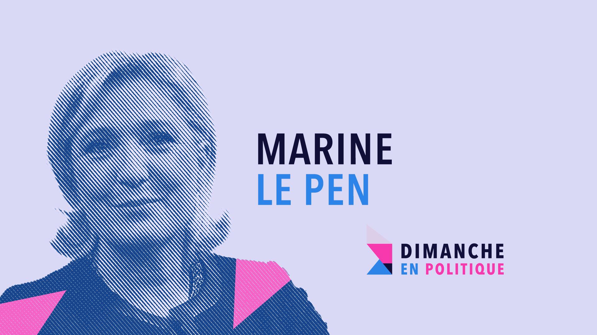 DIMANCHE EN POLITIQUE SUR FRANCE 3 N°48 : MARINE LE PEN