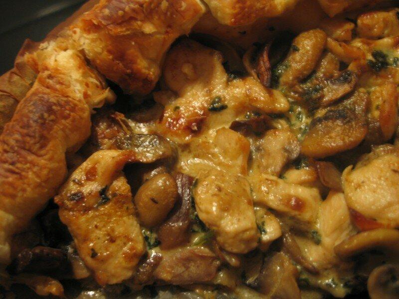 Tarte au poulet de Maryon
