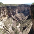 canyon de torotoro, 400m de profondeur
