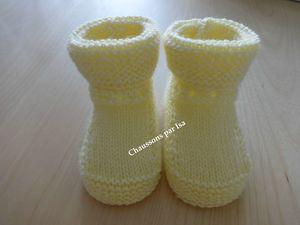chaussons par Isa