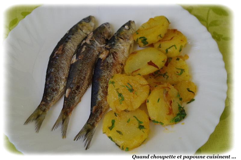 sardines grillées et poêlée de pommes de terre primeur-5451