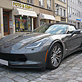 Chevrolet corvette c7 z06 supercharged 2door convertible