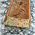 Terrine de saumon et colin