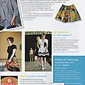 Passion Couture Créative n°4 (4)- Avril mai juin 2014 - page 7