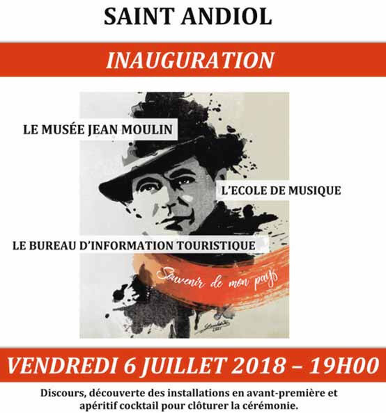Inauguration Musée Jean MOULIN