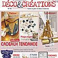 Nouveau n°40 de l'atelier deco & creations