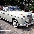 Mercedes 220 S cabriolet (W180II) de 1956 (RegioMotoClassica 2010) 01