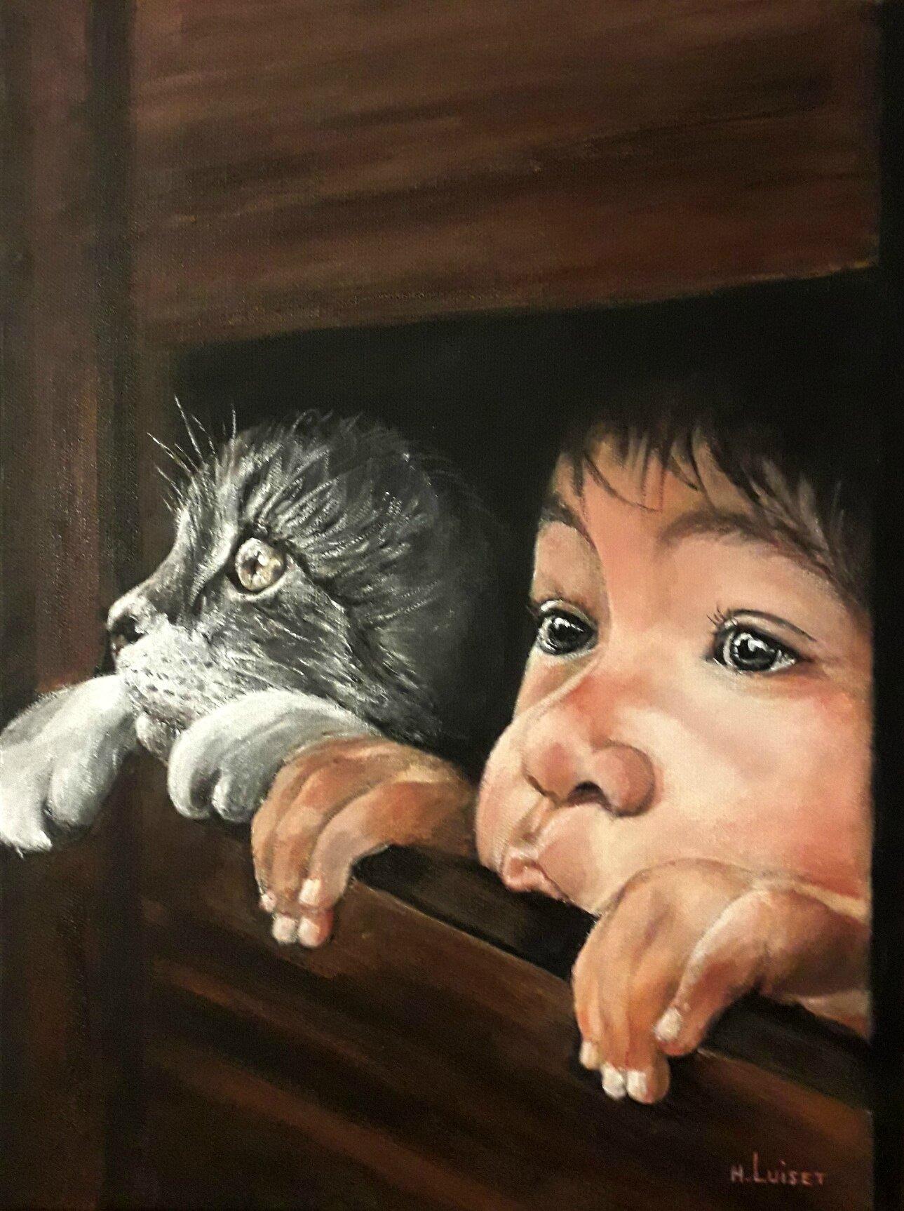 L'enfant au chat 2