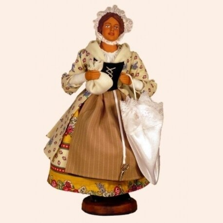 Le costume féminin : la bastidane, l'artisane, la paysanne