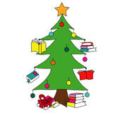 christmas-tree-books-you-can-use-illustrations-promoting-reading-culture-93429447