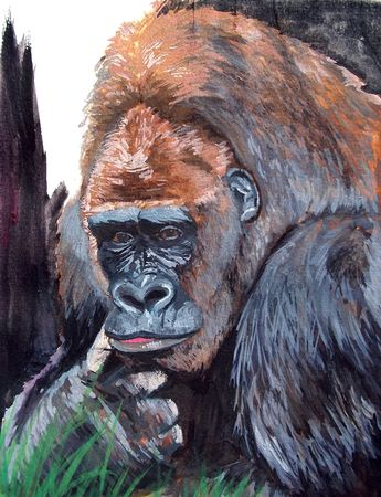 Peinture_Gorille