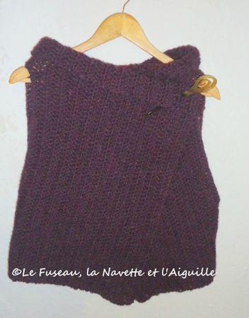 gilet sans manche violet1