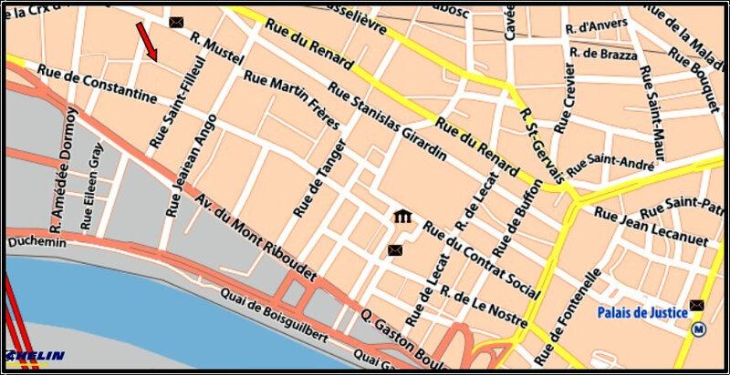 00 - Plan rue Alexandra DAVID NEEL