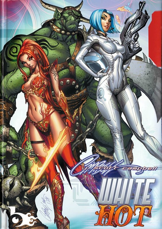j scott campbell white hot