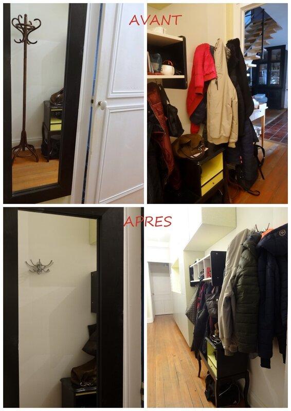 porte manteau couloir