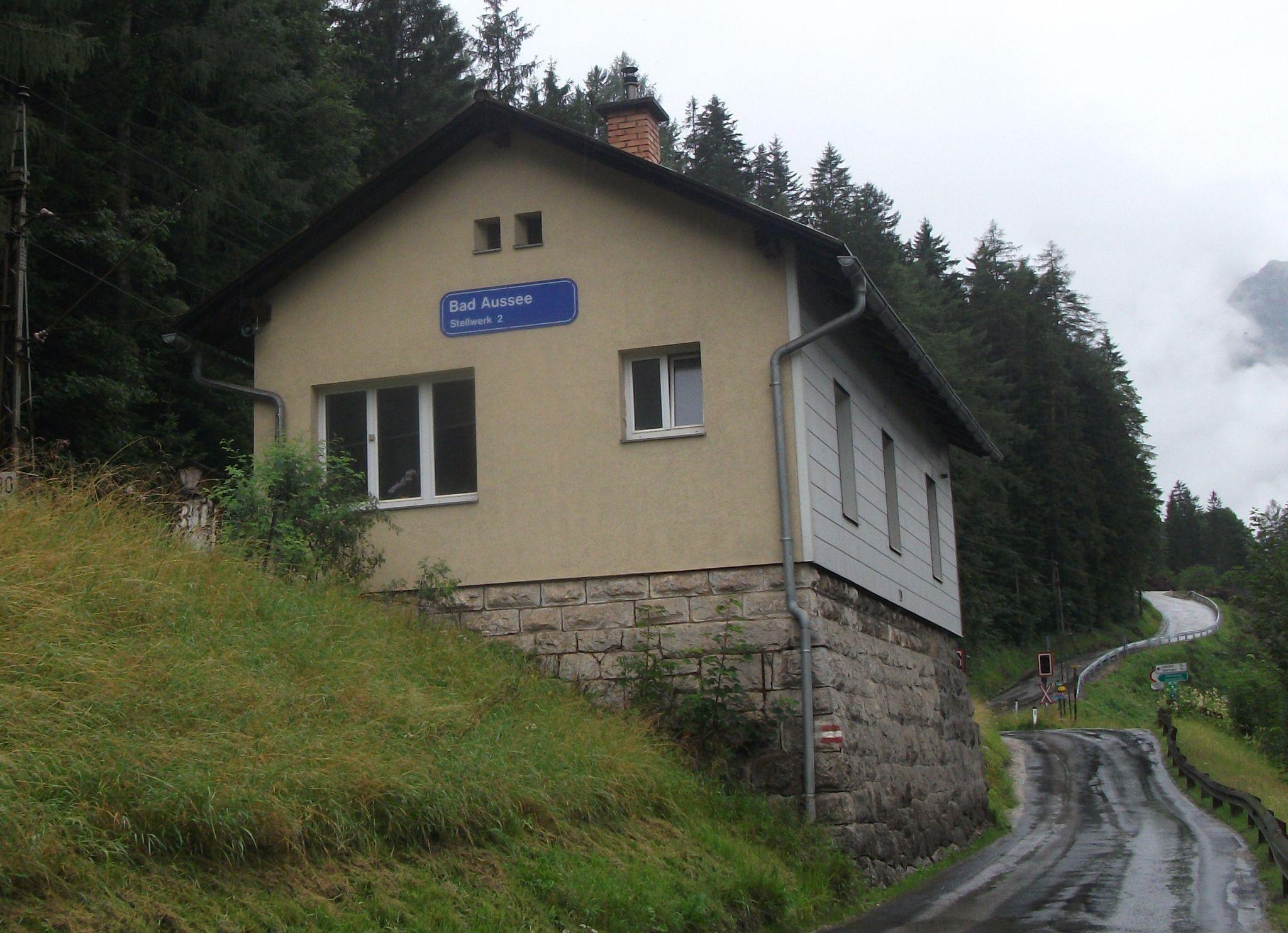 Bad Aussee - Poste d'aiguillage 2 (Autriche)