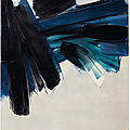 A masterpiece by pierre soulages offered in christie's paris avant-garde sale