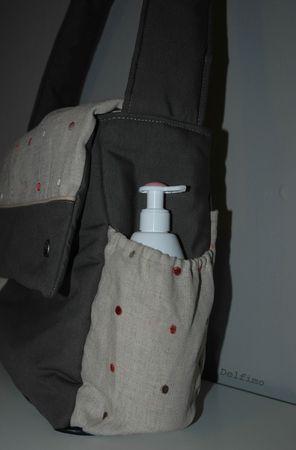 sac à langer Marie poche