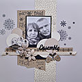 Scraplift de janvier : christine
