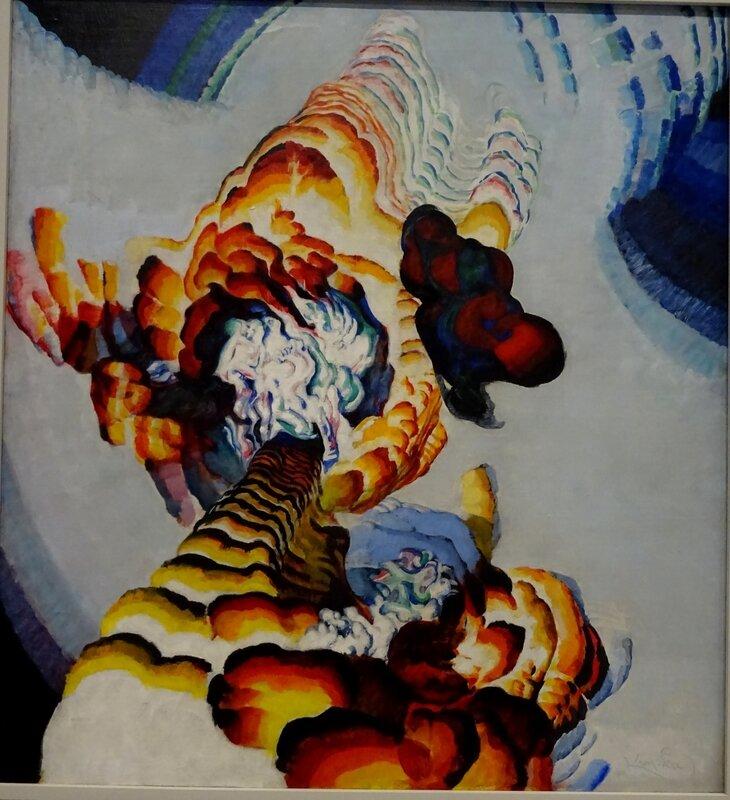 Kupka Conte de pistils et d'étamines 1919-1920