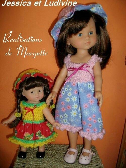 La robe Crochet-couture par Margotte