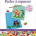 Le livre perles a repasser de marie guibert-matt source d'inspiration reconnue par creative magazine !