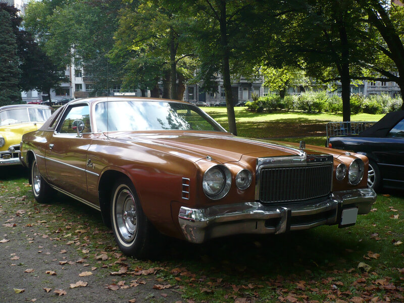 CHRYSLER Cordoba 2door hardtop coupé 1977 Liège (1)